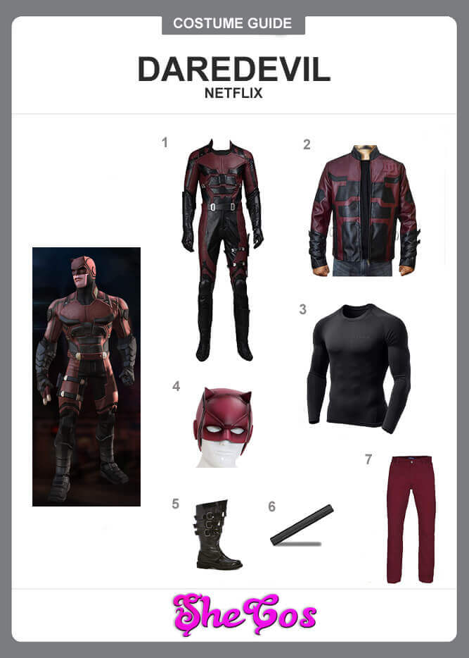 A Perfect Costume Guide To Dress Up As Netflix Daredevil
