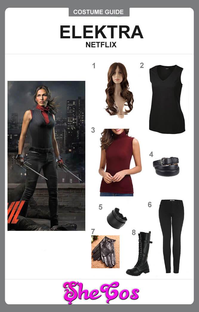 netflix elektra costume costume guide