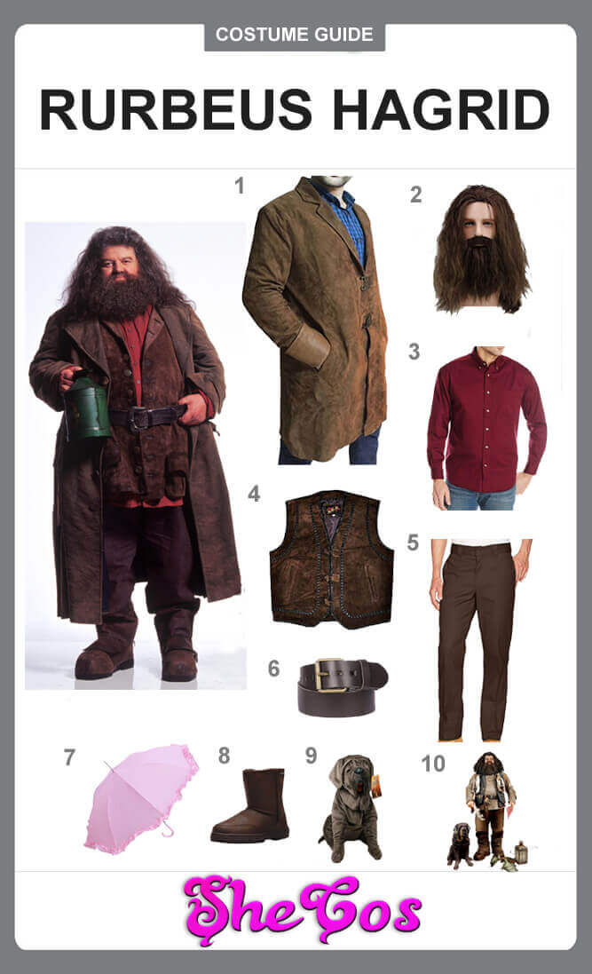 harry potter hagrid costume diy