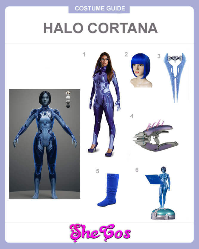 halo cortana cosplay guide