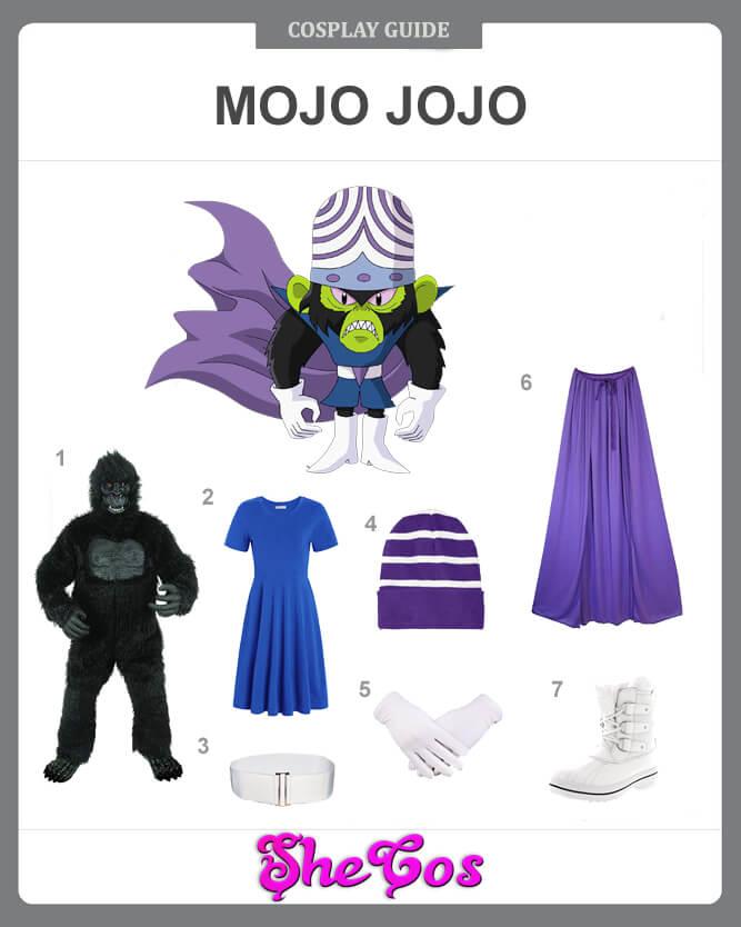 mojo jojo costume guide