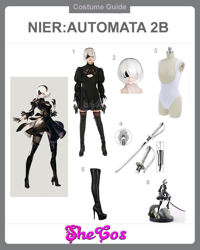 2B cosplay guide