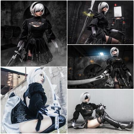 best 2b cosplay