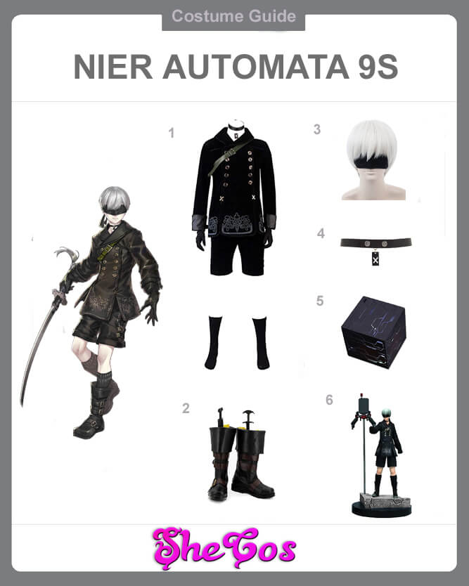 9s cosplay guide