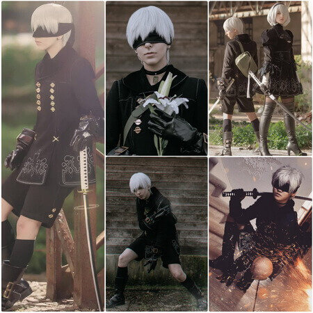 best nier 9s cosplay