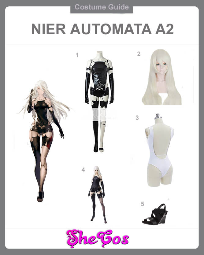 best nier a2 cosplay guide