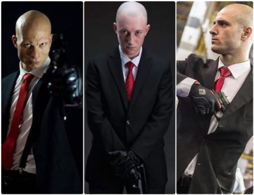 Agent 47 hitman cosplay