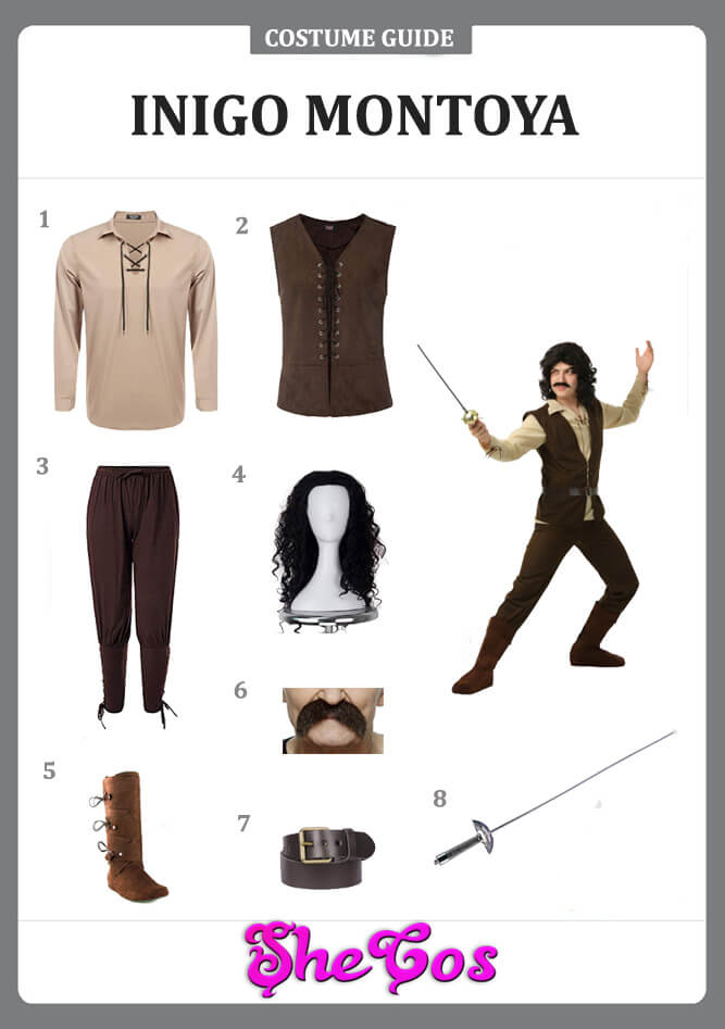 Inigo Montoya costume ideas