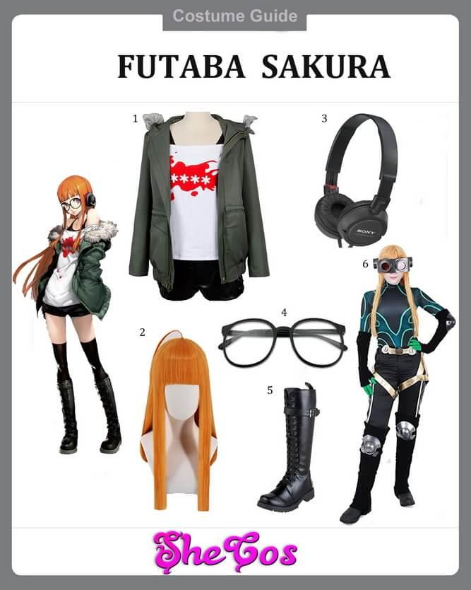 P5 futaba sakura cosplay ideas