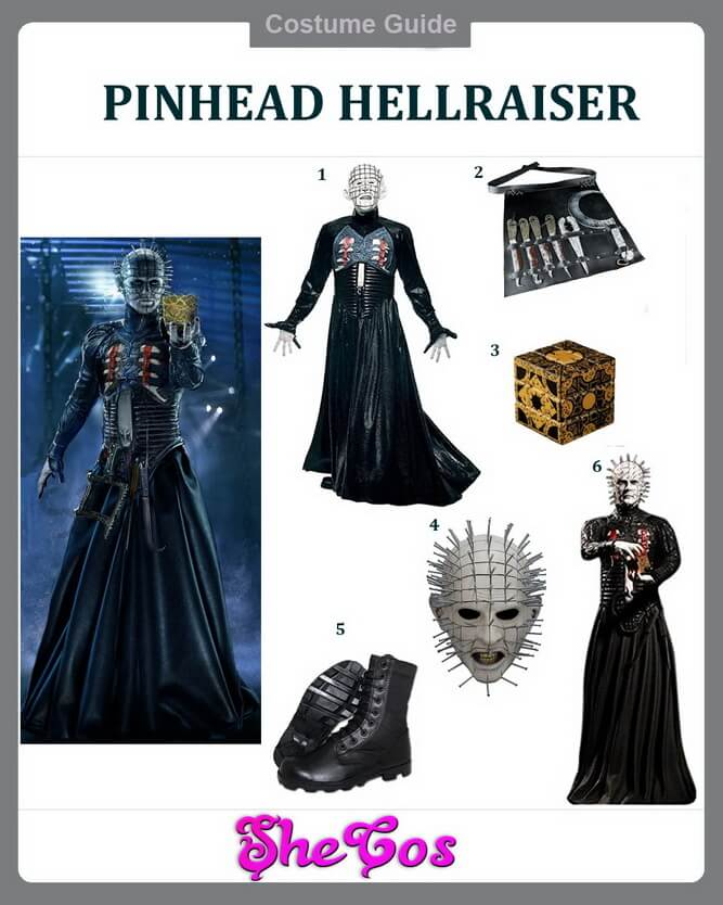 Pinhead costume ideas