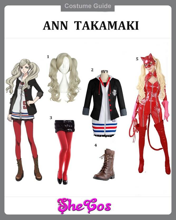 ann takamaki cosplay ideas
