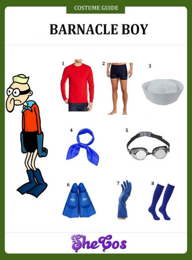 barnacle boy costume diy