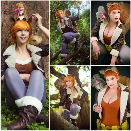 best squirrel girl cosplay