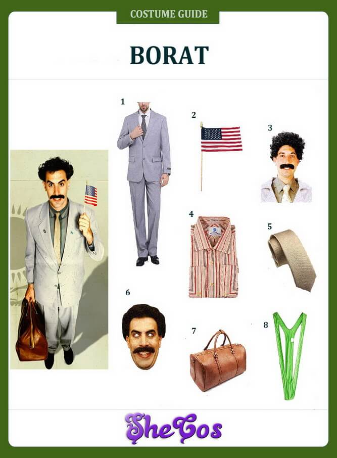 borat costume ideas