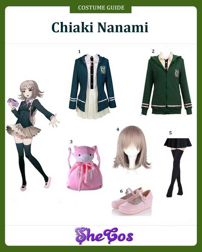 danganronpa chiaki nanami cosplay tutorial