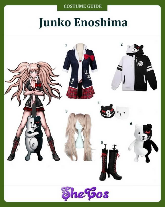 danganronpa junko enoshima cosplay ideas