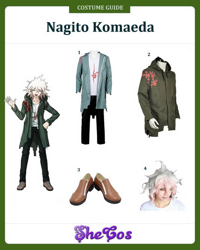 danganronpa nagito komaeda cosplay ideas