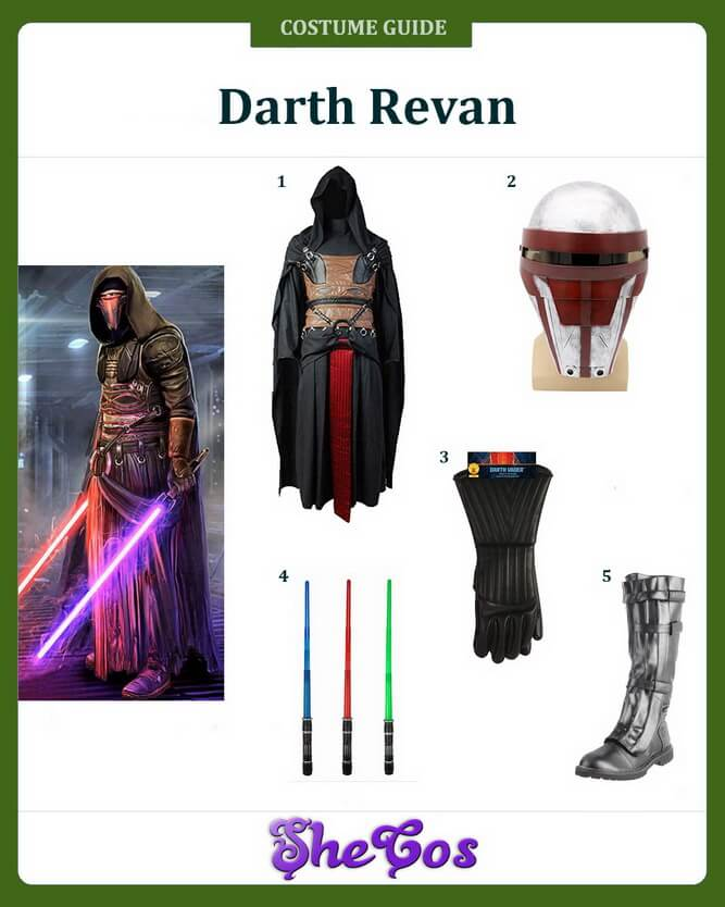 darth revan costume ideas