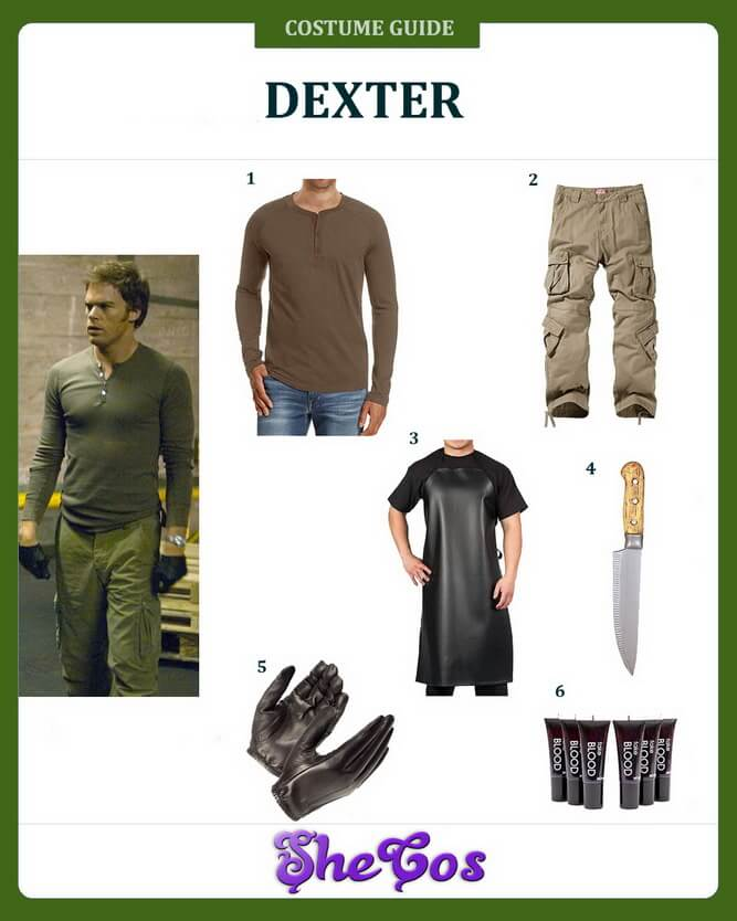 dexter costume ideas