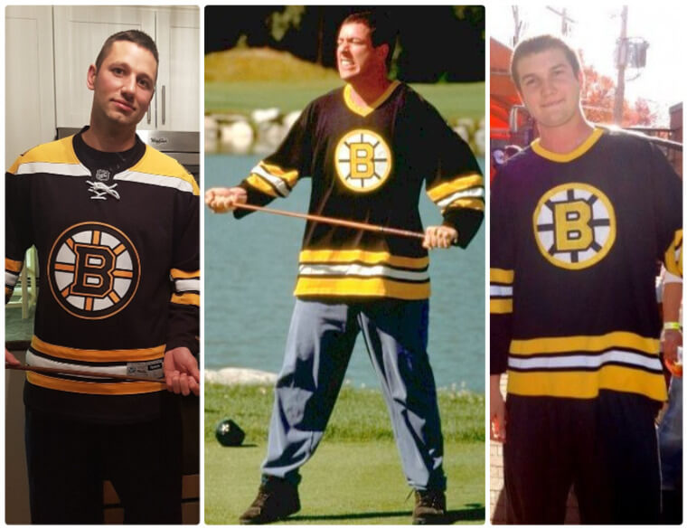 info for 7aed6 20509 The DIY Guide of Happy Gilmore Costume | SheCos Blog