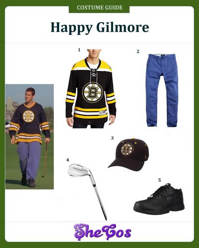 happy gilmore costume ideas