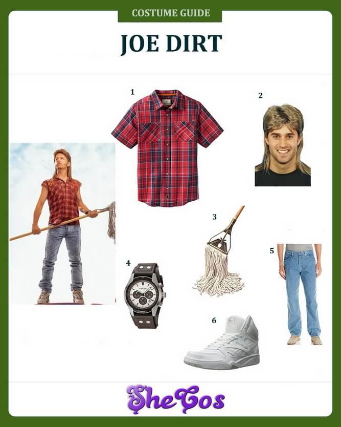 Lovely Inspiring Joe Dirt Costume From The Movie For Halloween ...