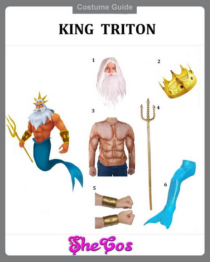 king triton costume diy