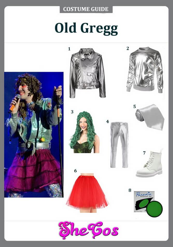 old gregg costume ideas