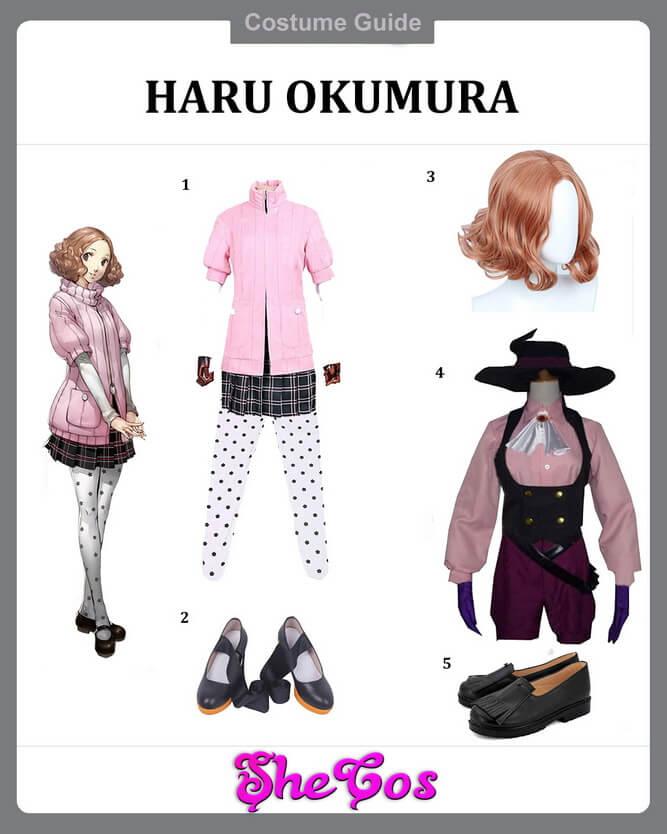 p5 haru okumura cosplay guide