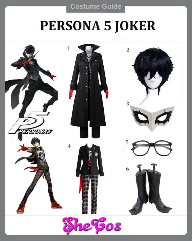 persona 5 joker cosplay ideas