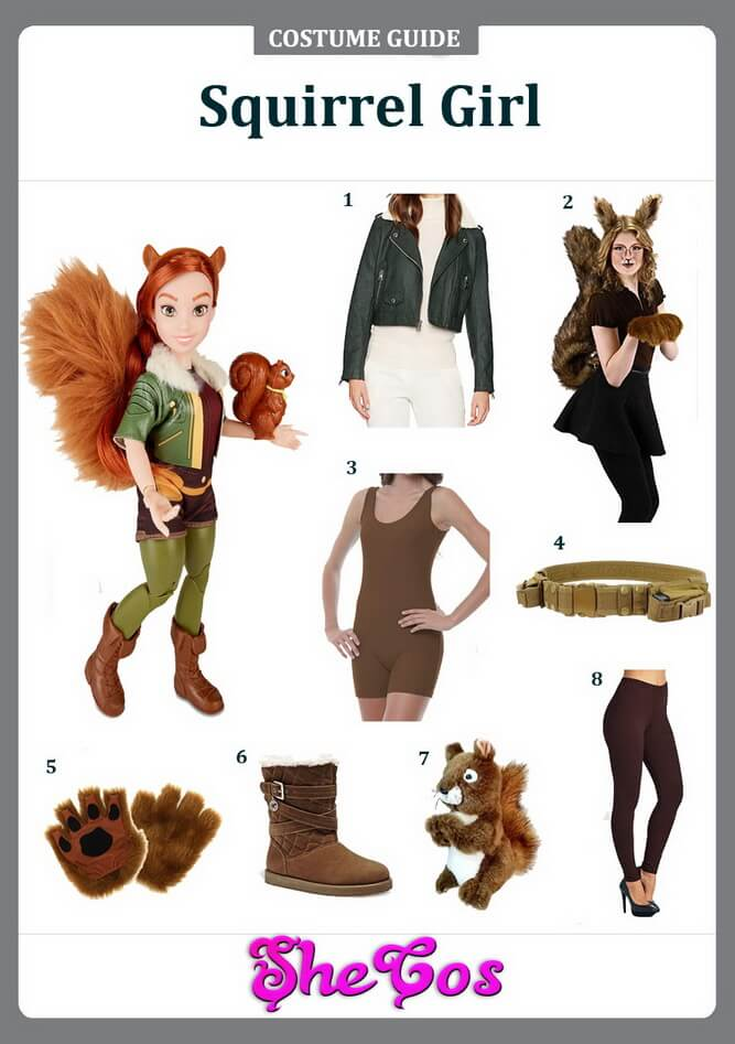 squirrel girl cosplay ideas