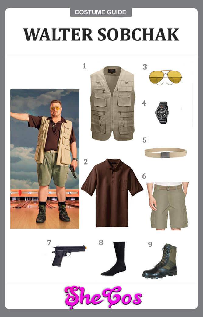 walter sobchak costume guide