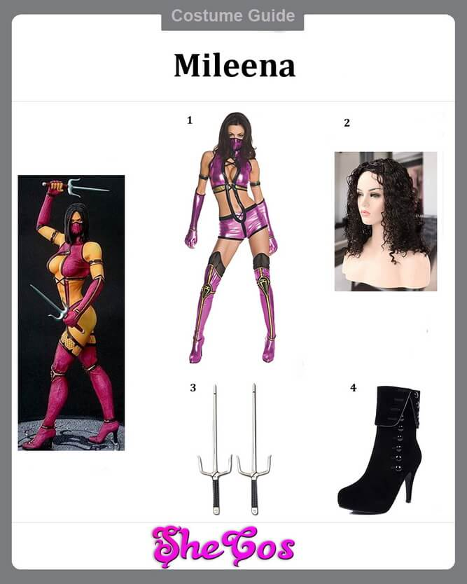 Mileena costume ideas