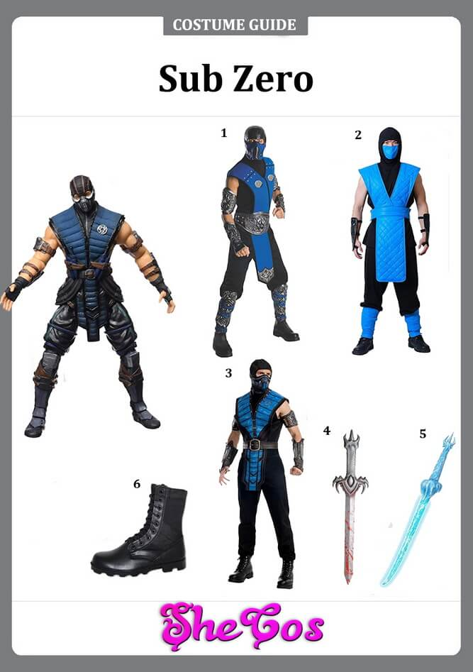 Sub Zero costume ideas