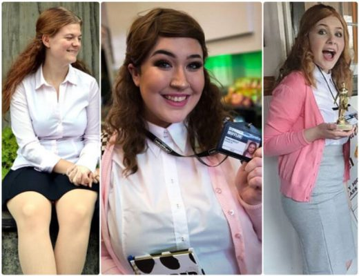 The Office Pam Beesly cosplay