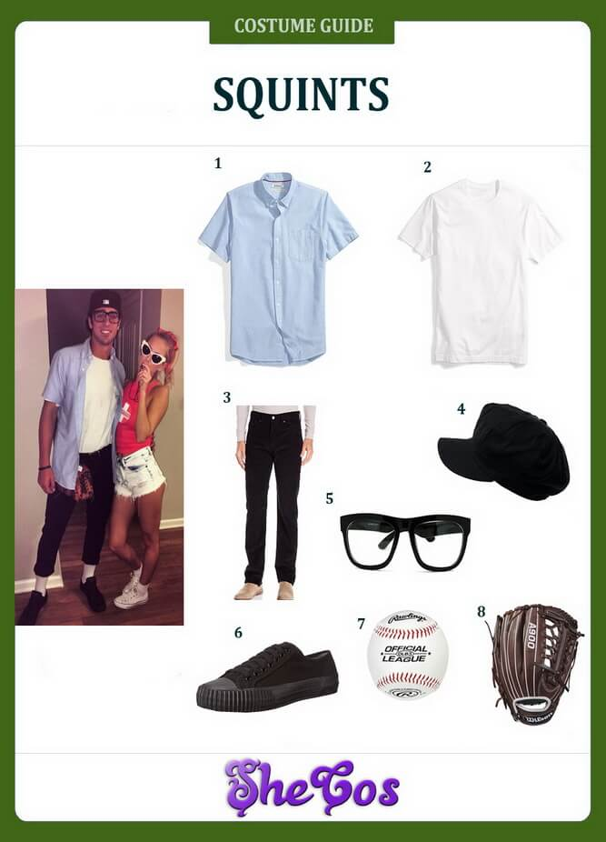 sandlot adult squints costume ideas