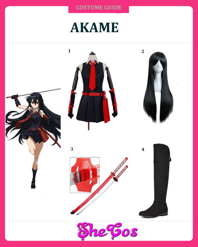 akame costume ideas