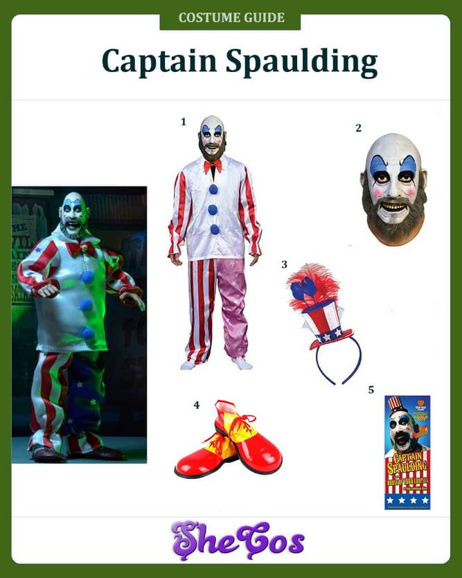 captain spaulding costume ideas