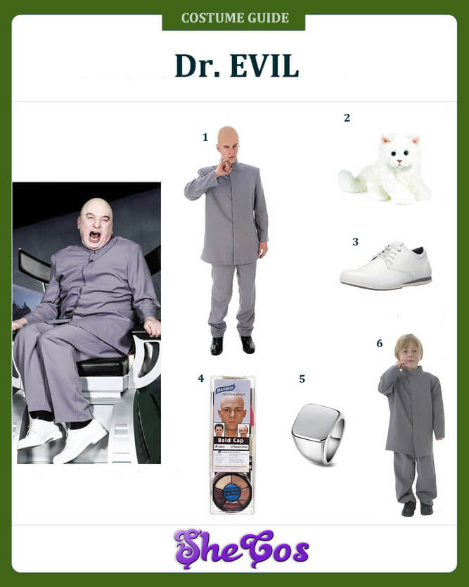 dr evil costume ideas