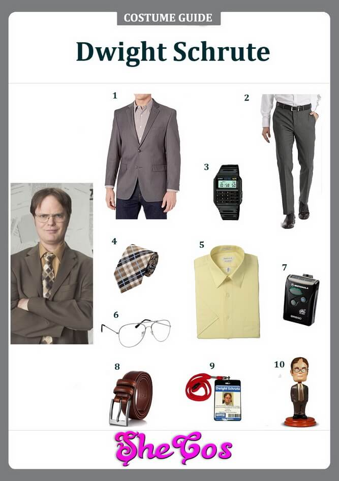 dwight schrute costume ideas