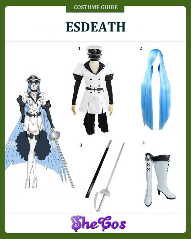 esdeath cosplay ideas
