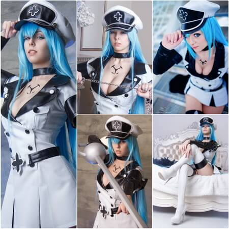 Akame ga Kill esdeath cosplay