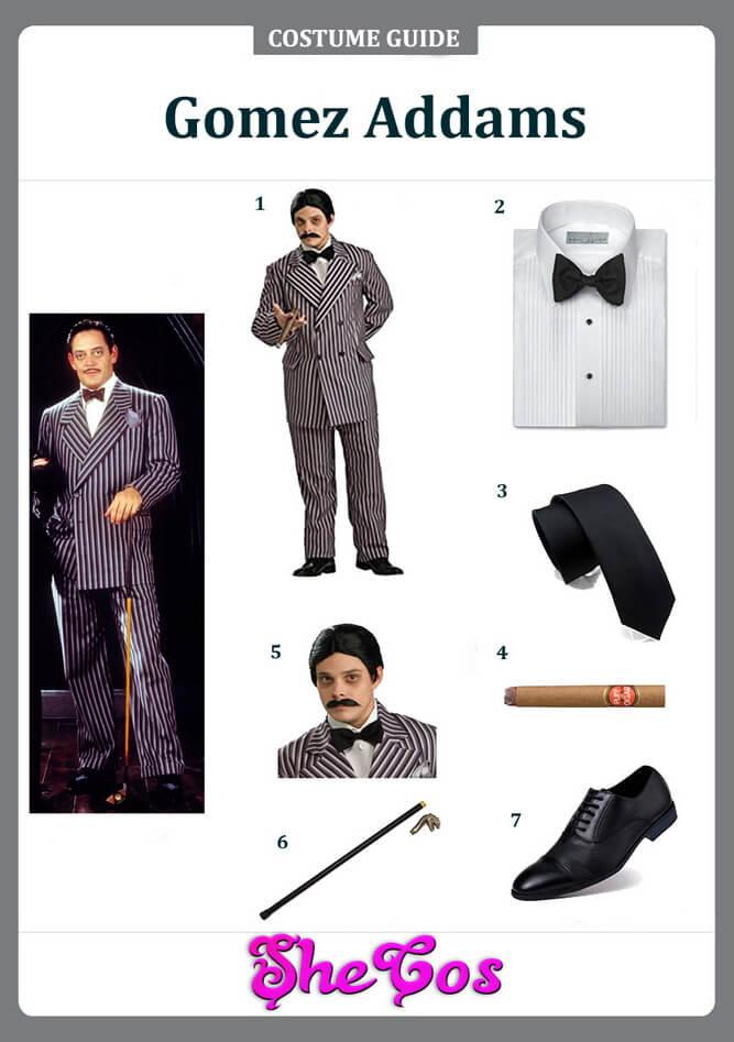 gomez addams costume ideas