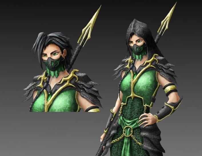 A Simple Diy Guide For Jade Mortal Kombat Costume Shecos Blog