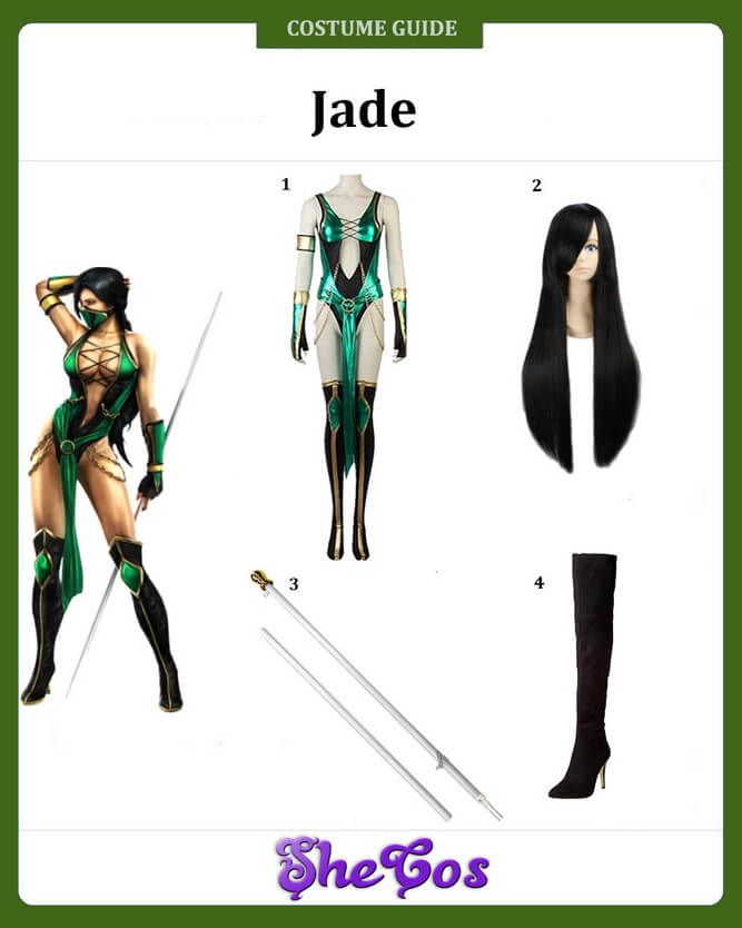 jade mortal kombat costume ideas