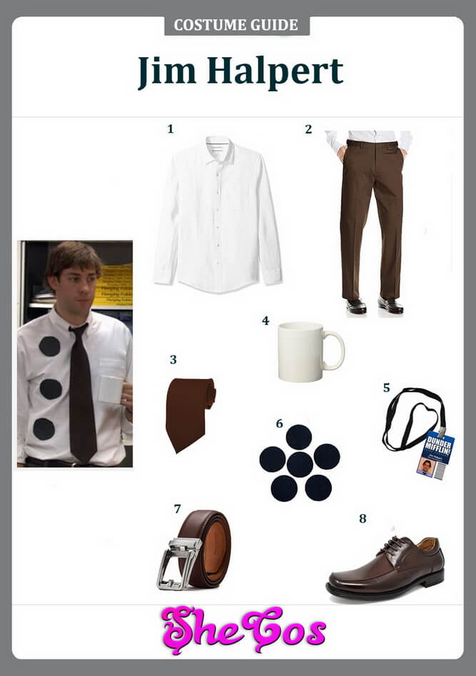 jim halpert cosplay ideas