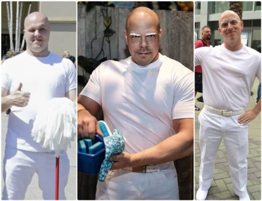 mr clean cosplay