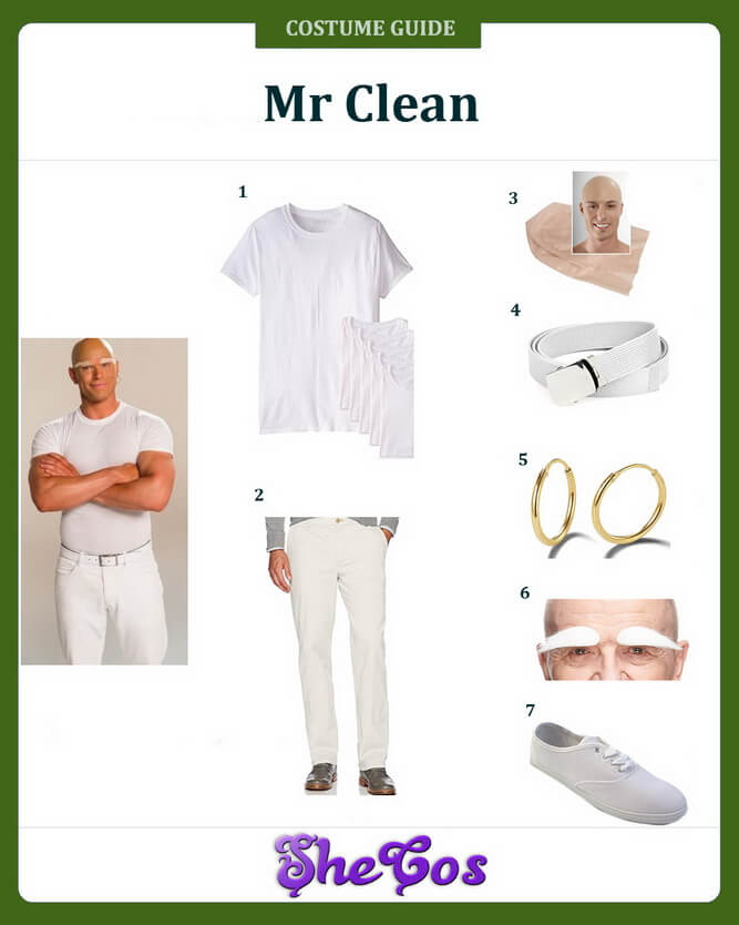 mr clean costume ideas
