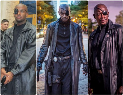 nick fury cosplay