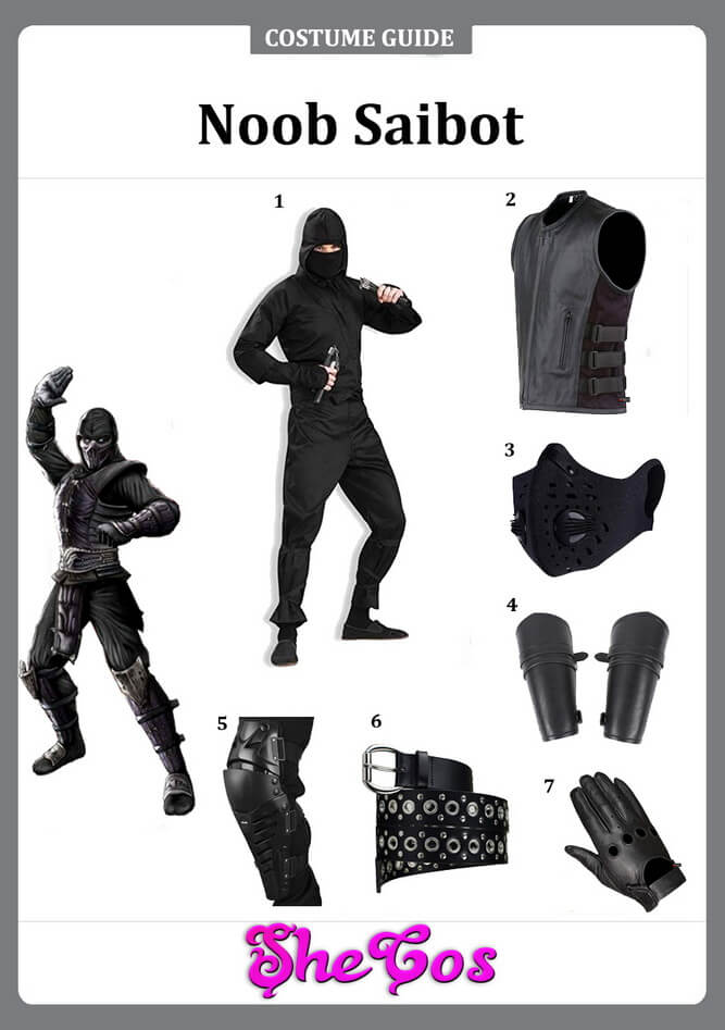 noob saibot costume ideas